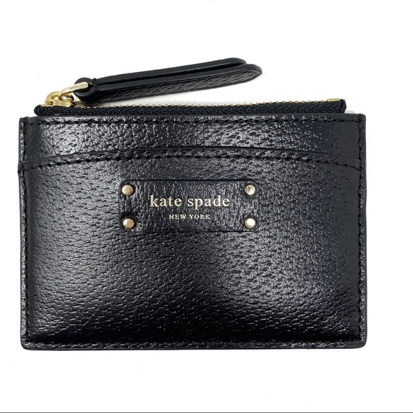 kate spade Accessories - Kate Spade | Jeanne Small Zip Leather Card Holder